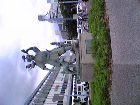 岡山に着きました
